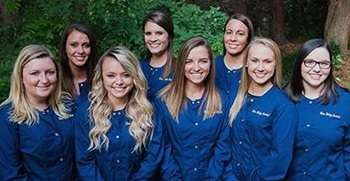 The Charlottesville Blue Ridge Dental team