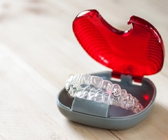 A protective case for your Invisalign aligners