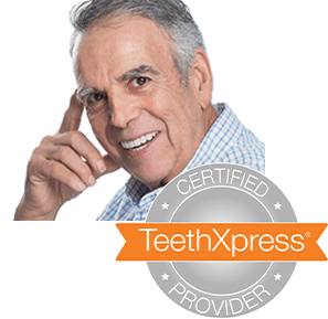 older man smiling with beautiful teeth